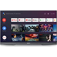METZ 138 cm (55 Inch) 4K UHD Smart Certified Android OLED TV M55S9A (Gray) (2019 Model)