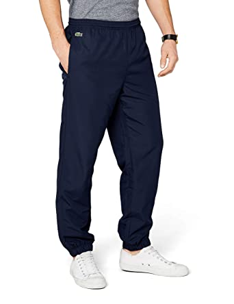 e03fe3ec5d Lacoste - XH120T - Pantalon de sport - Relaxed - Homme - Bleu (Marine)
