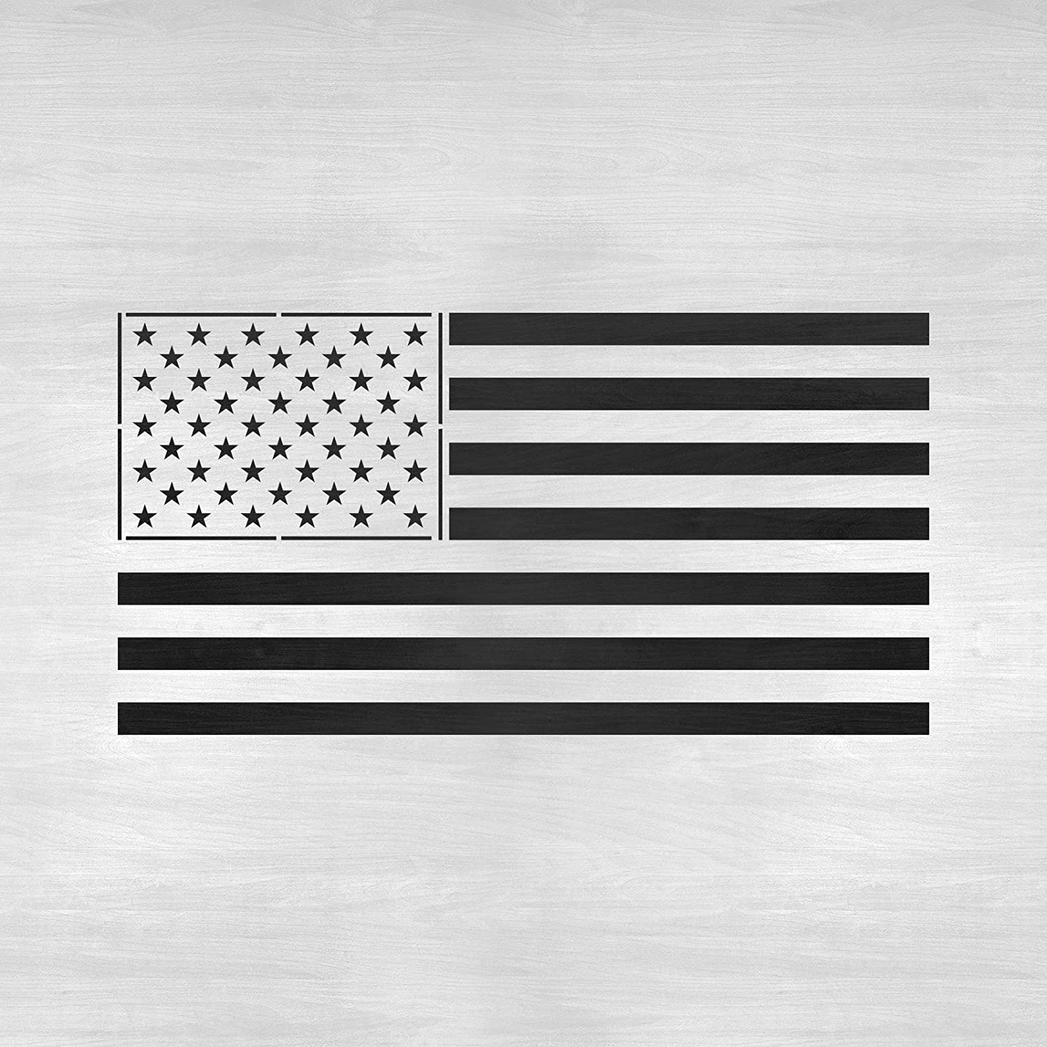 photograph about Printable American Flag Star Stencil named American Flag Stencil Template - Reusable Stencil with A number of Dimensions Offered