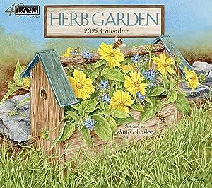 LANG HERB Garden 2022 Wall Calendar (22991001914)