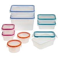 Snapware Total Solution 18-piece Plastic Food Storage Set