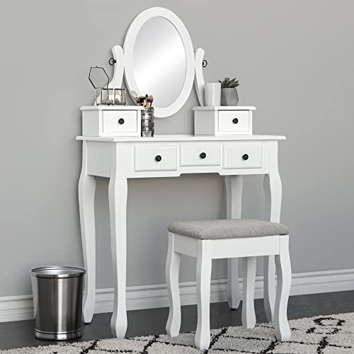 Small Vanity Table For Bedroom Amazon Com