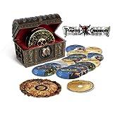 Pirates of the Caribbean Collection (15-Disc Box Set) [Blu-ray 3D + Blu-ray + DVD + Bonus Disc + Digital Copy]