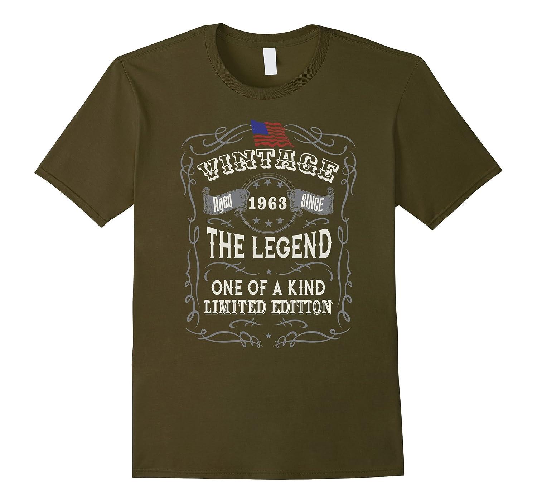 Mens 55th Birthday Gifts For Men - 1963 Birthday Shirt-RT