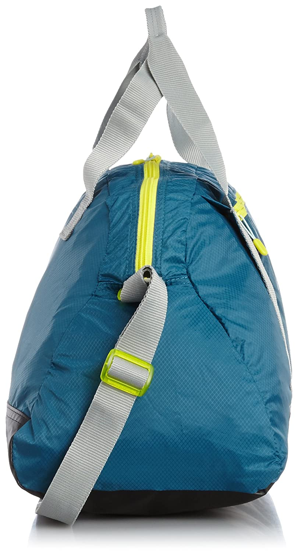 c5262b6a21 Puma Fit at Sports Women s Duffel Bag blue Blue Coral Limestone Gray Sulphur  Spring Size 52 x 29 x 22 cm