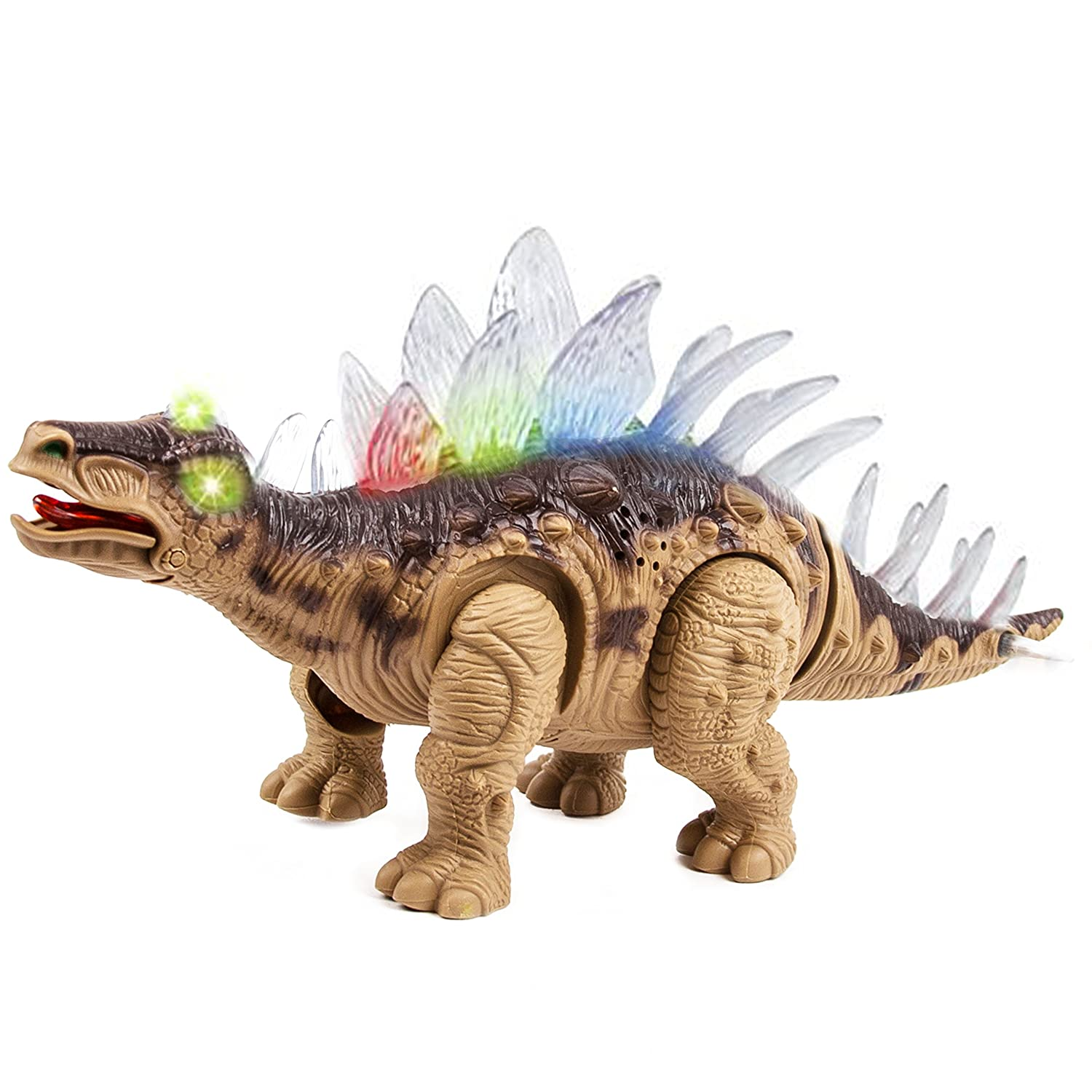 Dinosaur Toy Walking Light Up Sounds Kids Remote Control ...