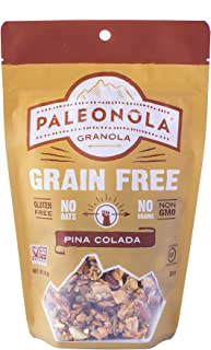 product image for Paleonola – Grain Free Granola Pina Colada Flavor – Non-GMO, Grain, Soy, Gluten, Dairy Free – Low Carb Protein Snack For A Healthy Breakfast