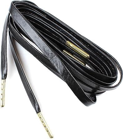 Flat Sheepskin Leather Shoelaces