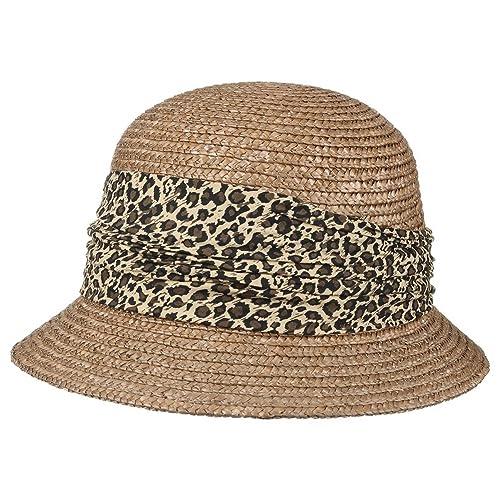Leo Cappello Paglia da Donna Seeberger cloche cappello di paglia