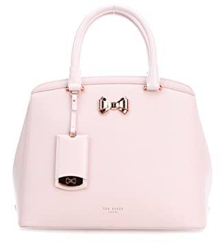 e069daa58ba61 Ted Baker Tealia Bow Detail Small Leather Tote Bag - BABY PINK:  Amazon.co.uk: Luggage