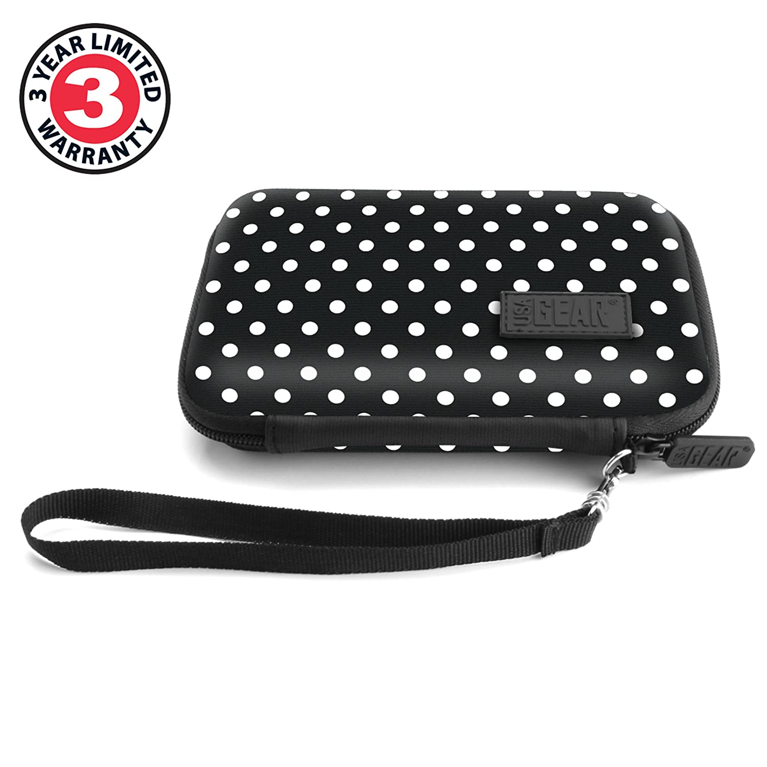 Polka Dot PerfectPrime IR0005 USA Gear Hard Protective Thermal Imager Carrying Case PRO Fastframe XR and More Thermal Imagers C3 XR Seek Reveal Compatible with FLIR C2