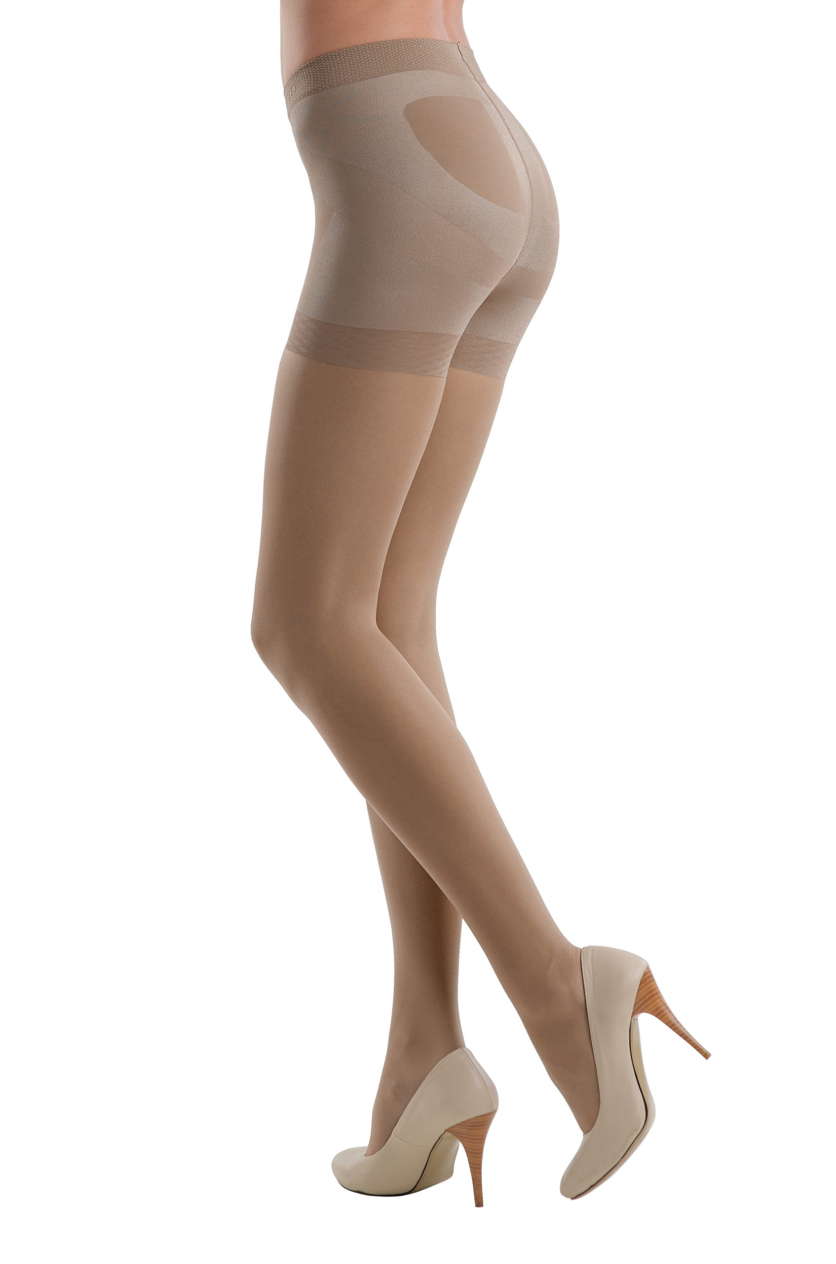 Conte America Top Quality Pantyhose Control Top with 7 Shaping Belts X-PRESS 20 den