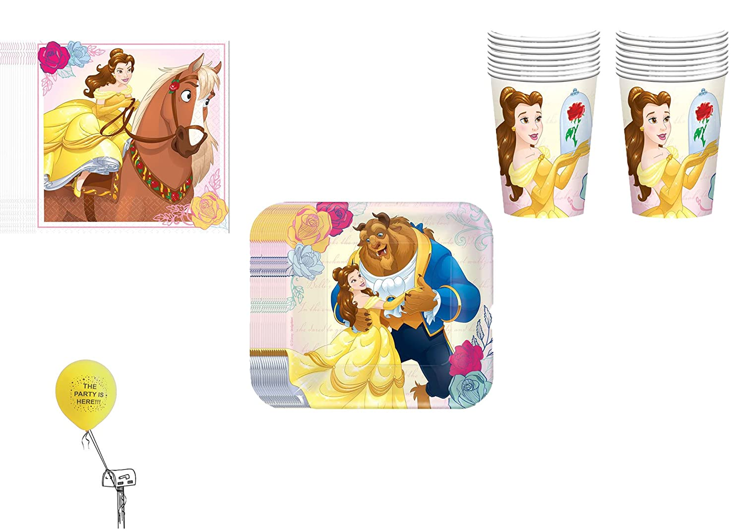 Beauty and the Beast Party Bundles   Birthday Wikii