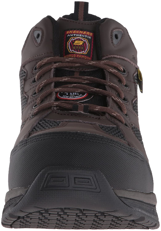 cbc8f61b16ac Amazon.com  Skechers for Work Men s Conroe Slip Resistant Centerton Boot   Shoes
