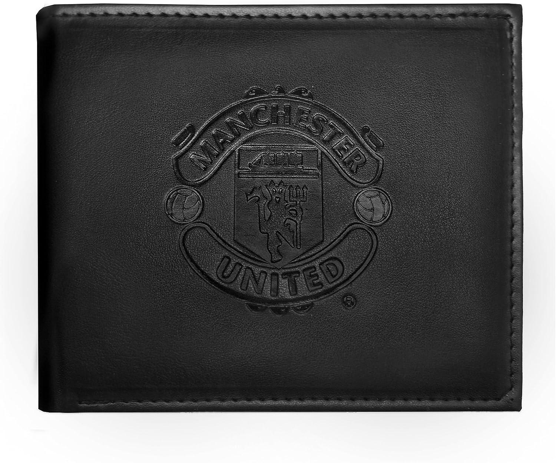 Manchester United FC - Cartera oficial con el escudo grabado