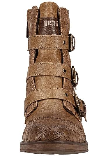 MUSTANG Damen 1293 507 308 Stiefeletten: : Schuhe