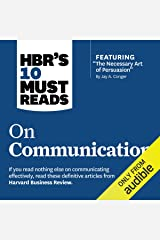 HBR's 10 Must Reads on Communication Audible Audiobook