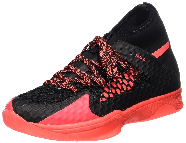 Puma Unisex-Erwachsene Evospeed Indoor Netfit 1 Hallenschuhe Schwarz (Black-fiery Coral)