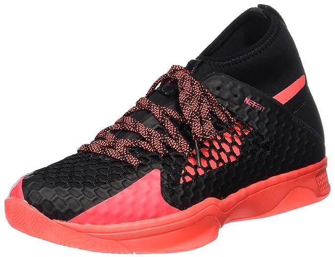 1 Black Handball Netfit Evospeed Chaussures Coral Fiery Puma