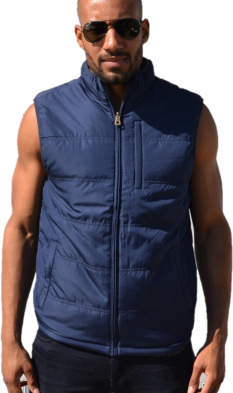 Weatherproof Vintage Mens Reversible Navy Vest XX Large