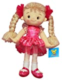 "YT Toys C5428B 32 cm ""Emma"" Pink Rag Doll Dark Dress"