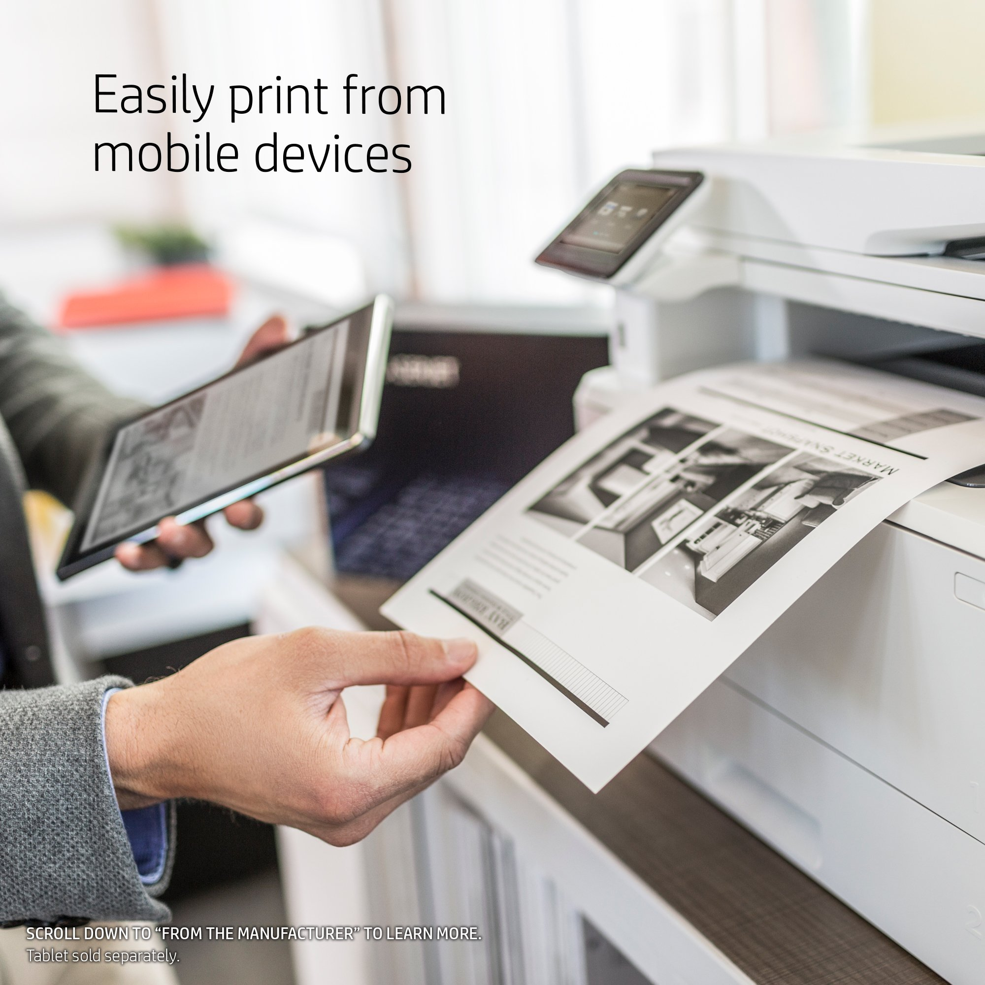 HP LaserJet Pro M426fdw All-in-One Wireless Laser Printer with Double-Sided Printing, Amazon Dash Replenishment ready (F6W15A) by HP (Image #4)
