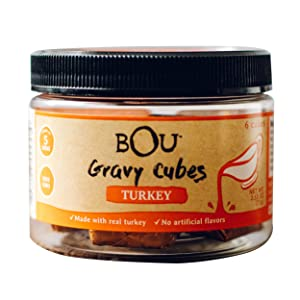 BOU Turkey Gravy Cubes, 2.53 Ounce, 6 Count