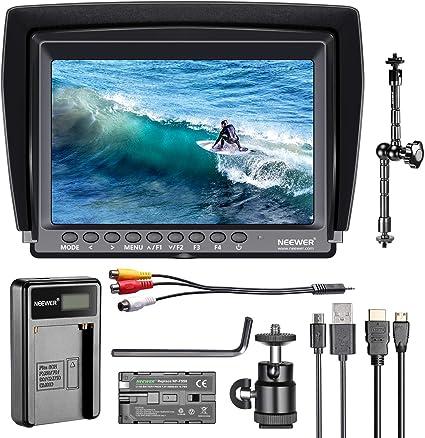Neewer Feldmonitor 7 Zoll 1280x800 Ips Bildschirm Set Kamera
