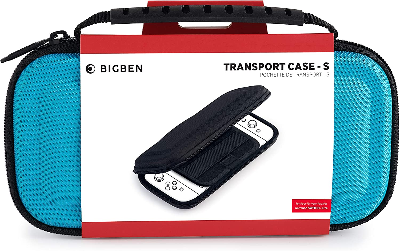 BigBen Interactive - Bolsa de transporte, Color azul (Nintendo Switch Lite): Amazon.es: Videojuegos