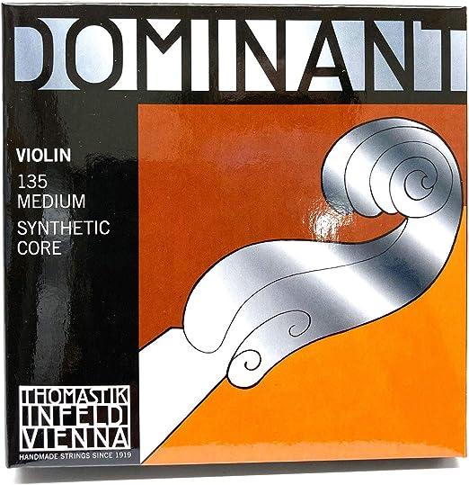 Thomastik Dominant Violinsaite 131 A 4//4 A-Einzelsaite Violine Kunststoffkern
