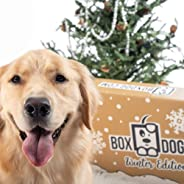 BoxDog - 4 Giant Seasonal Dog Boxes per Year Filled With Handmade Treats, Vegan Skincare, Dog Toys, Gear & Gadgets: Tough Chewer