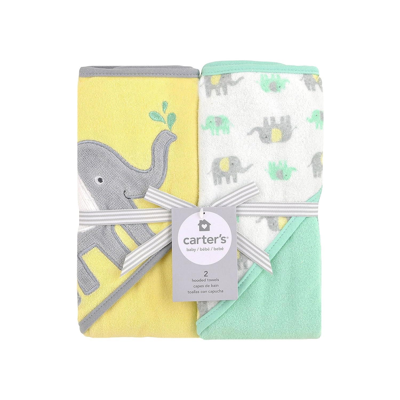 Hooded Elephant Towel Set : Baby
