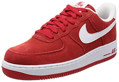 Nike Air Force 1 Rot Weiß