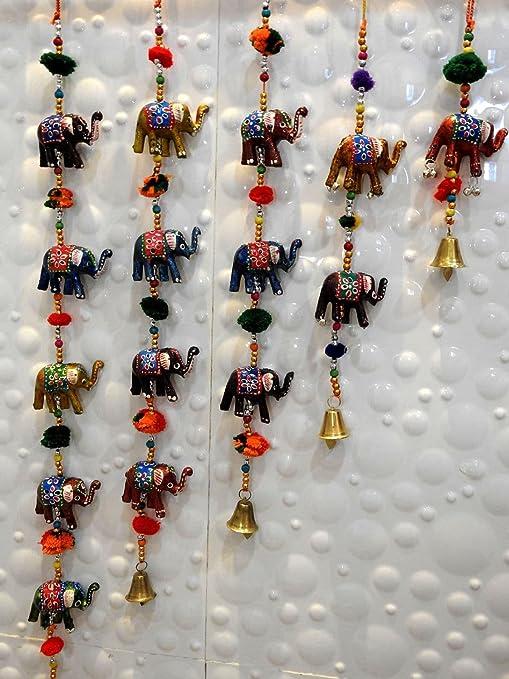 Buy Royal Arts Crafts Handmade Rajasthani Elephant Hanging Door