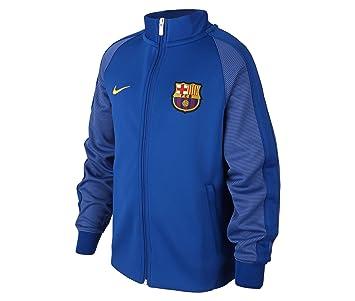 4ead6210ada27 Nike FCB Y NSW N98 TRK JKT AUT Chaqueta FC Barcelona