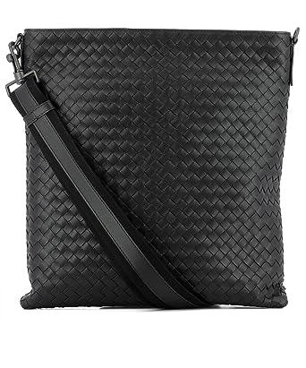 Amazon Com Bottega Veneta Men S 276356v465c1000 Black Leather
