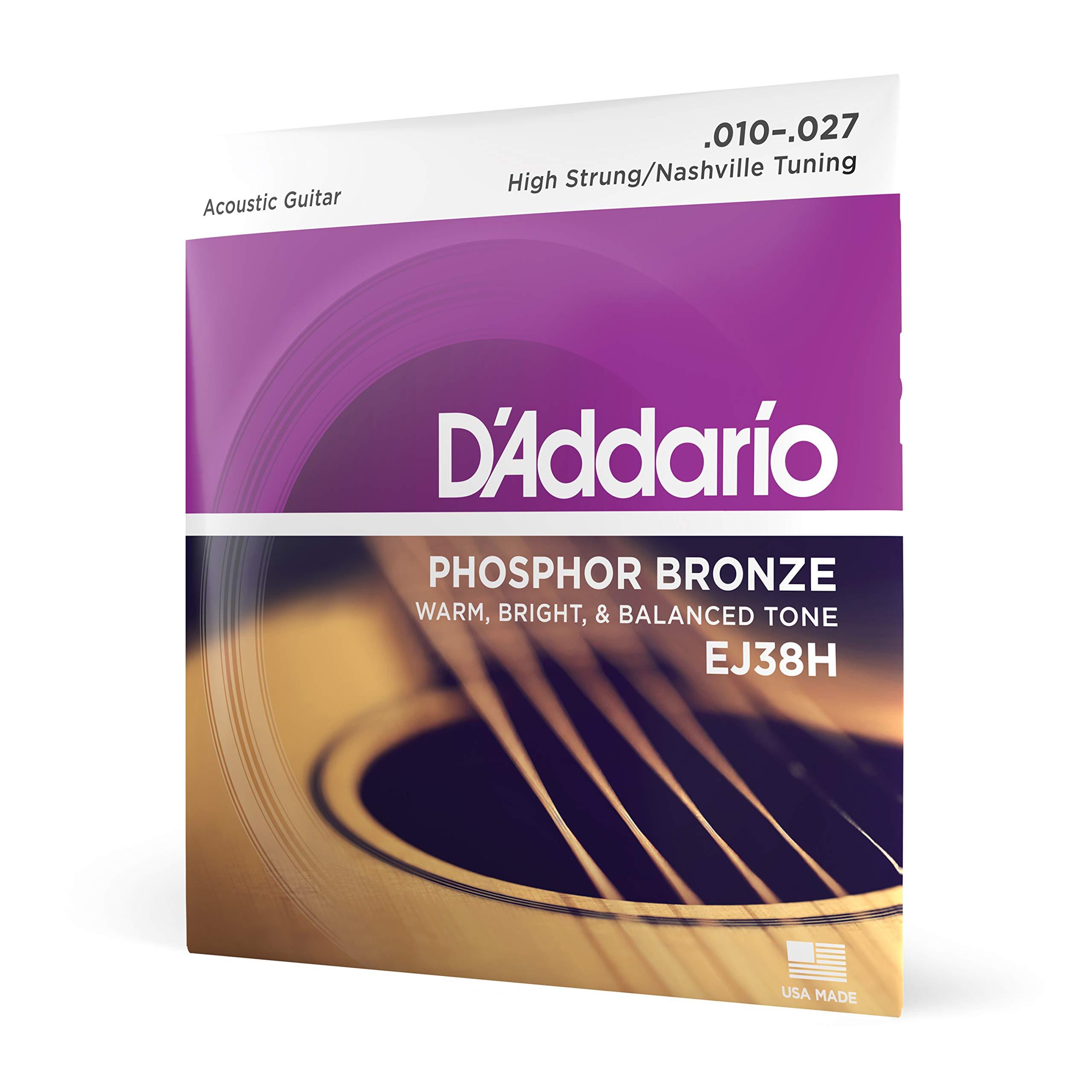 D'Addario Acoustic Guitar Strings (EJ38H)