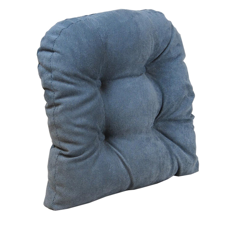 Klear Vu Twillo Overstuffed No Slip Upholstered Pad Large Chairs Bluestone Single Cushion 17 x 17