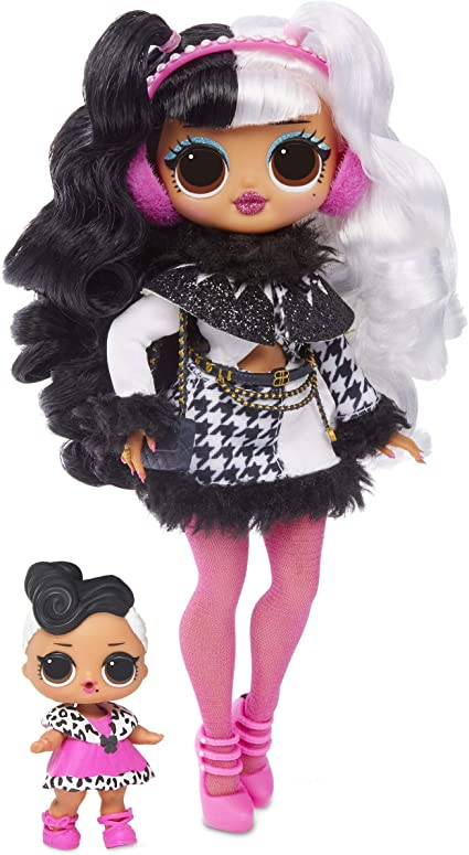 LOL Surprise! OMG Winter Disco Dollie Fashion Doll \u0026 Sister