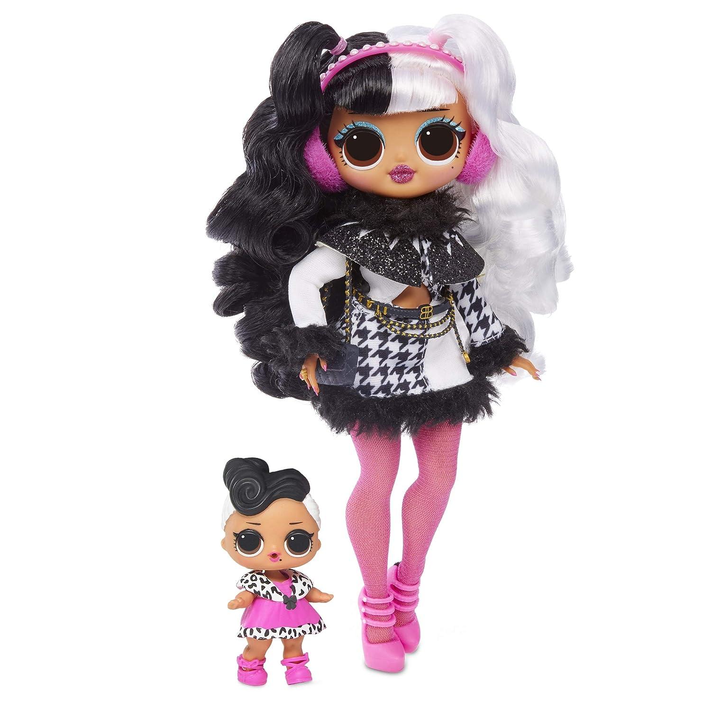 Winter Disco Dollie Fashion Doll /& Sister Surprise O.M.G L.O.L
