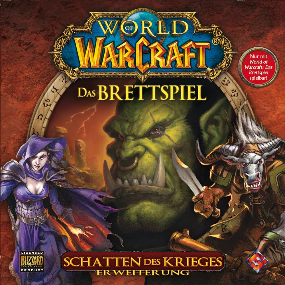 Heidelberger Spieleverlag HE118 - World of Warcraft: Schatten Des Krieges, Pack de ampliación del Juego de Mesa [Importado de Alemania]: Amazon.es: Juguetes y juegos