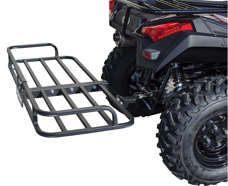 flat steel rack mesh ramps kolpin atv basket p discount collapsible