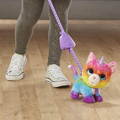 FurReal Friends E5307EU5 FRR WALKALOTS Big Wags Unicorn CAT, Multicolour: Toys & Games