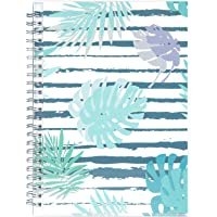 "2019 Planner - 2019 Academic Weekly & Monthly Planner + Tabs + 21 Notes Pages, Twin-Wire Binding with Flexible Pocket Cover, Thick Paper Resists Ink Bleed, 5"" x 8"" - Artfan"