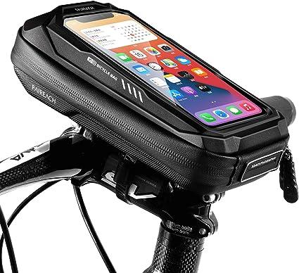 Neuf Cadre Mount Vélo Pneu Pompe et Support téléphone avec le matériel complet