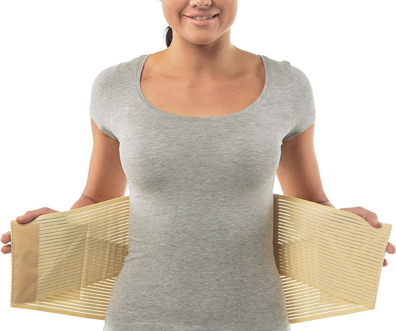 aHeal Cinturón Faja Lumbar Ortopédica para Corregir la Postura de la Espalda apto Hombre y Mujer | Soporte Lumbar Inferior para Aliviar el Dolor de Espalda y Prevención de Lesiones | Talla 1 Piel