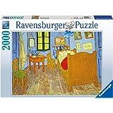 Ravensburger - Puzzles 2000 piezas, diseño Habitación de Van Gogh en Arles (16684 8)