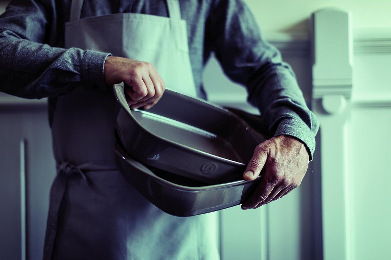 Silex ceramica Emile Henry piatto da forno singolo in ceramica 22 x 14 x 6 cm