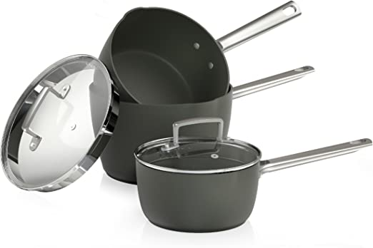 Easy Clean Non-Stick Ceramic Coating Tower Pro 28cm Hard Anodised Frying Pan