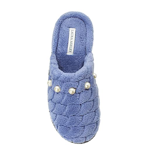 53ab851c66d16 Laura Ashley Womens Rugged Scallop Pearl Memory Foam Scuffs (See Colors,  Sizes)